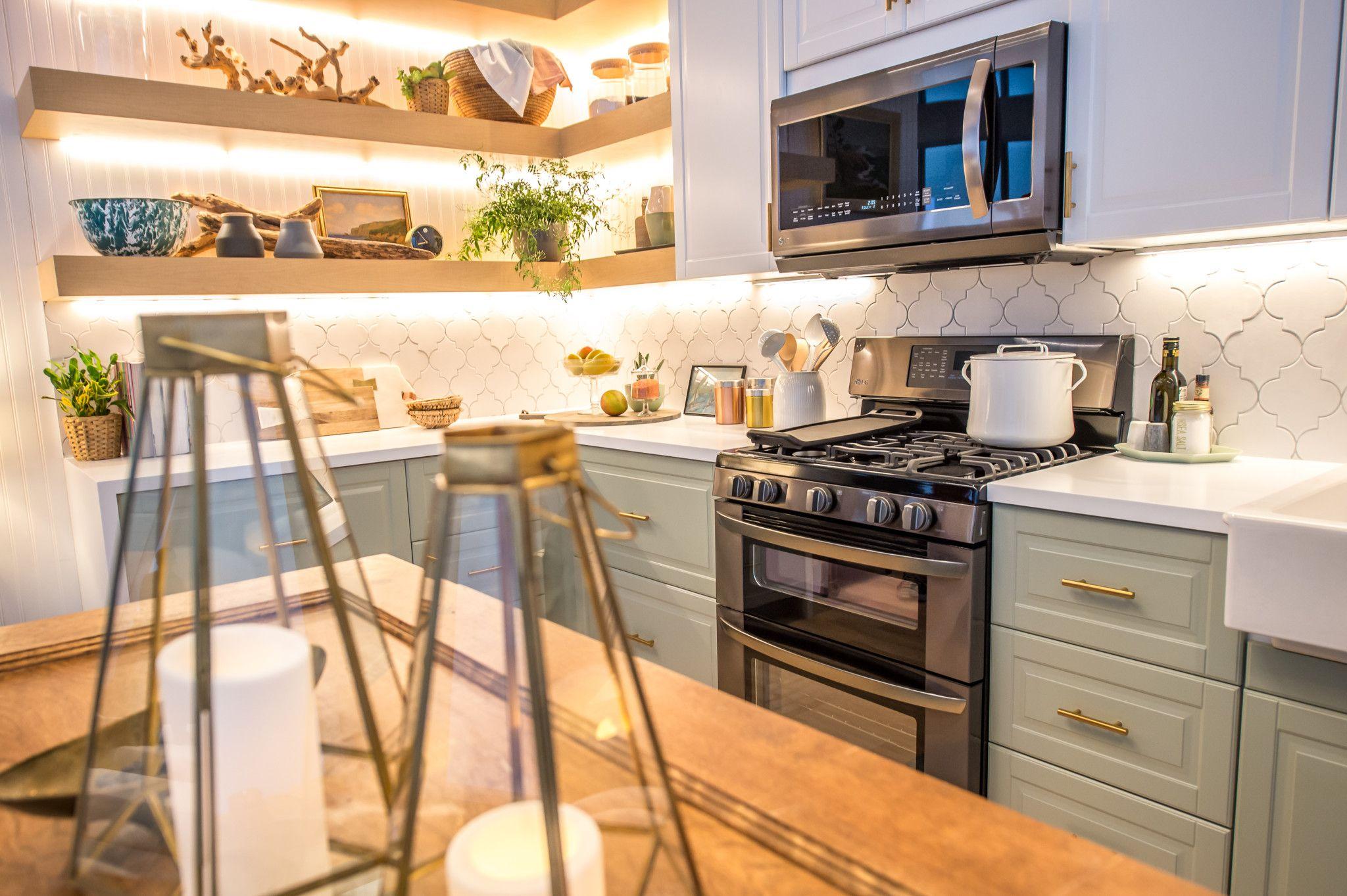 I LLOVE this kitchen!  #LGLimitlessDesign #Contest LG Limitless Design Contest with HGTV