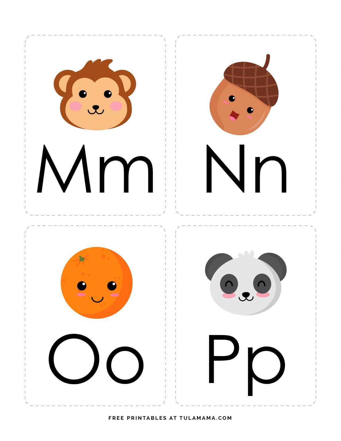 Fun free engaging alphabet flash cards for preschoolers