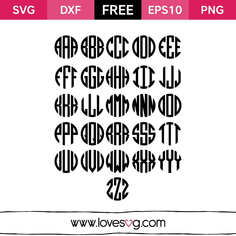 Monogram Fonts Free Download For Mac