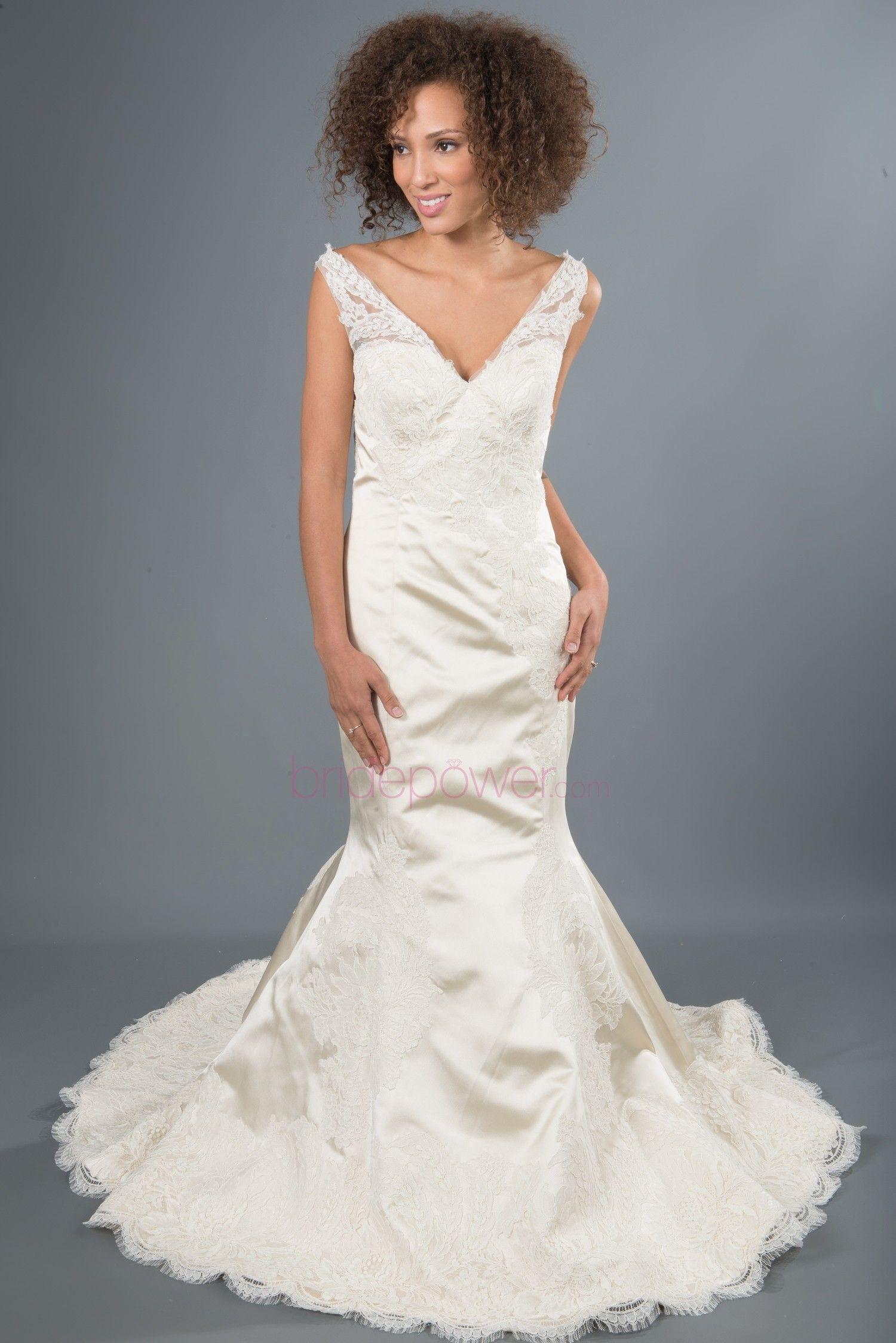Lazaro Wedding Dress   Trumpets, Wedding dress and Wedding