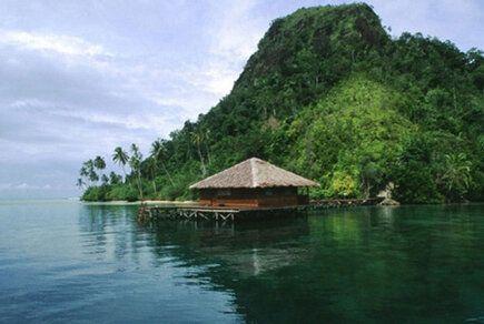 Cubadak Island, West Sumatra