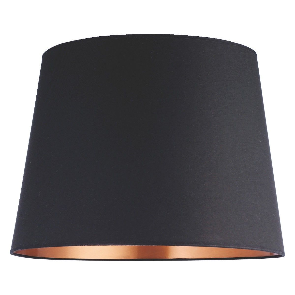Grande Black Copper Large Tapered Lampshade D51 X H36cm Extra Large Lamp Shades Large Lamp Shade Lamp