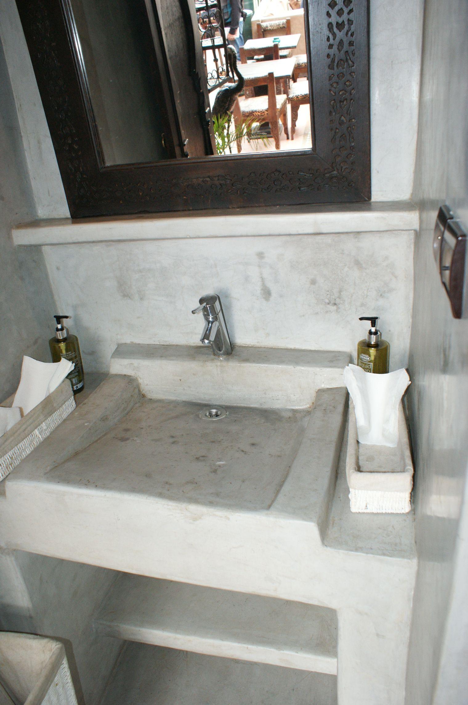 Grey Tadelak in Marrakech