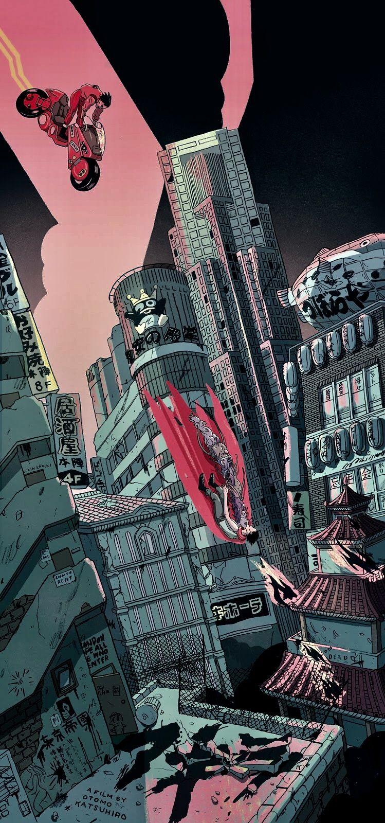 Pin By Tsuguchi On Alternative Movie Tv Show Posters Akira Poster Akira Anime Akira