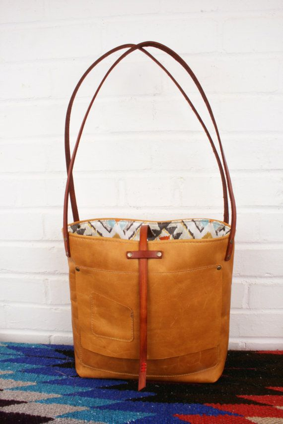 Hey I Found This Really Awesome Etsy Listing At S 224014351 The Brooklyn Bag Lined Leather Handbag