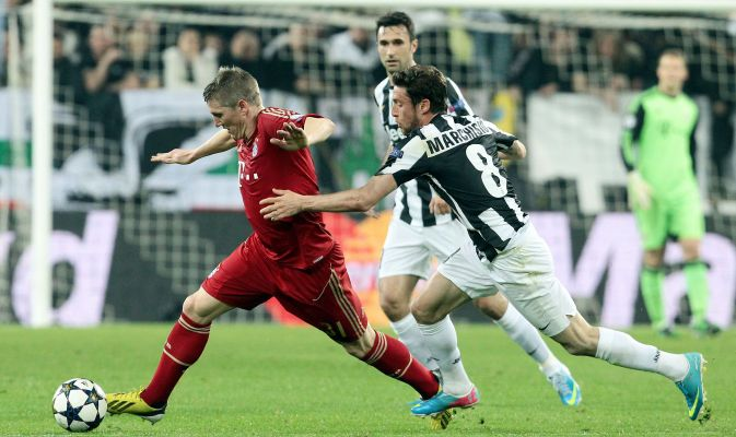 JUVENTUS-BAYERN MUNICH CHAMPIONS LEAGUE 2012-13