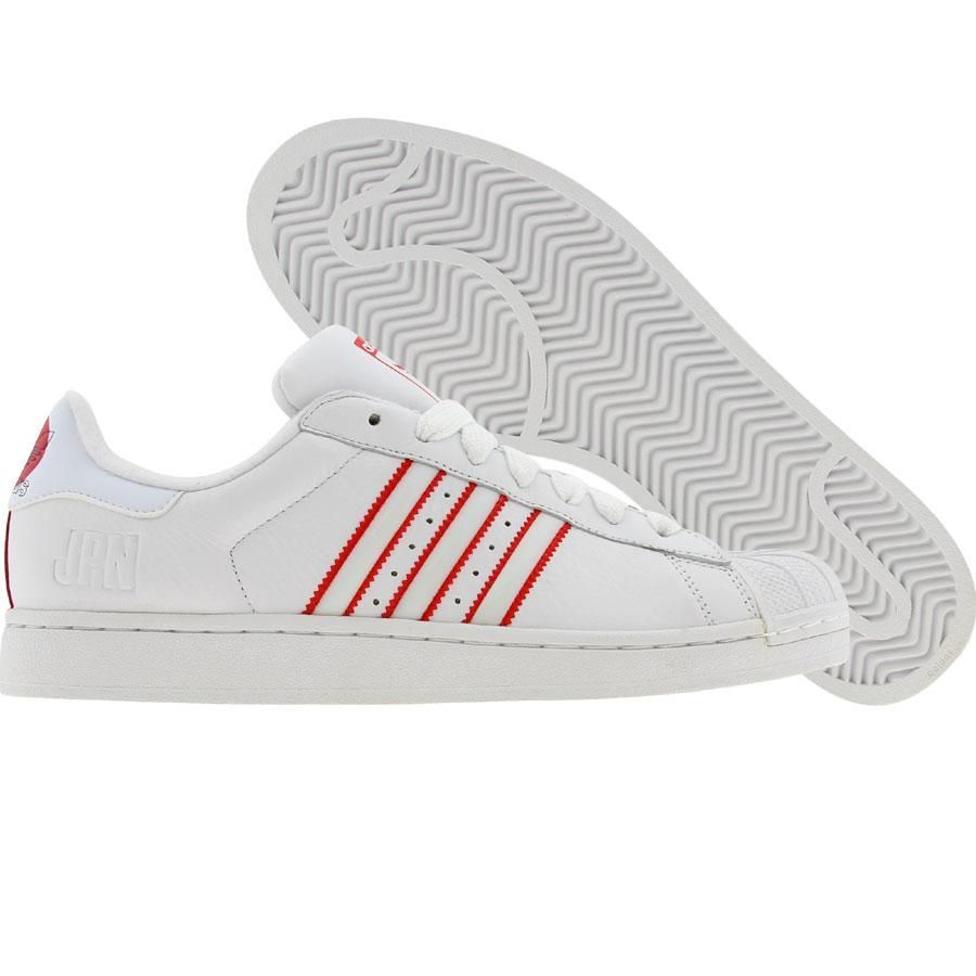 Adidas Superstar II - Japan (white / lgtsca / white) 031664 - $89.99