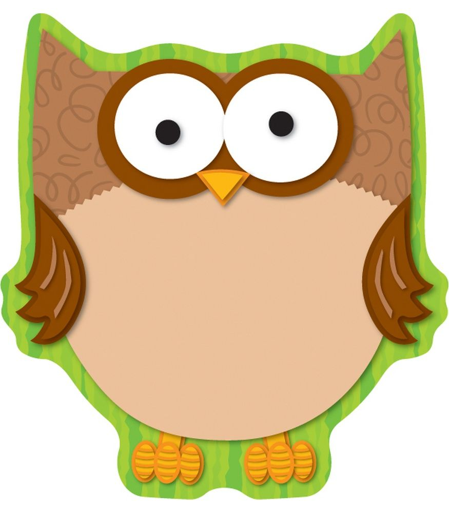Owl Notepad | Owl, Clip art and Planners