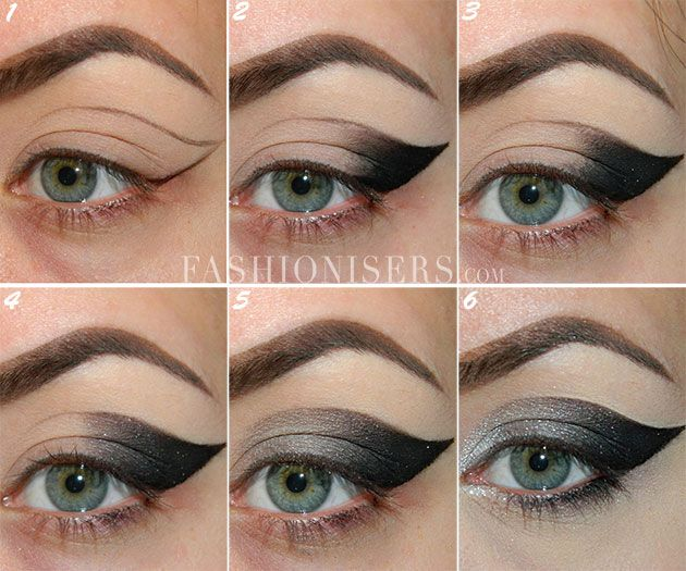Dramatic Cat Eye Makeup Tutorial | Cat eye makeup tutorial ...