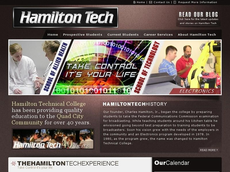 Hamilton Technical College College, University list