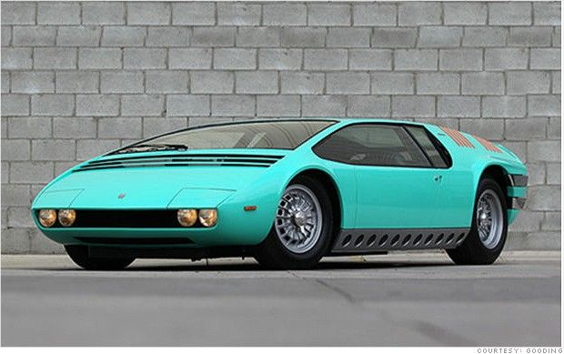 1969 Bizzarrini Manta by Ital Design. So weird-- and yet kinda cool!