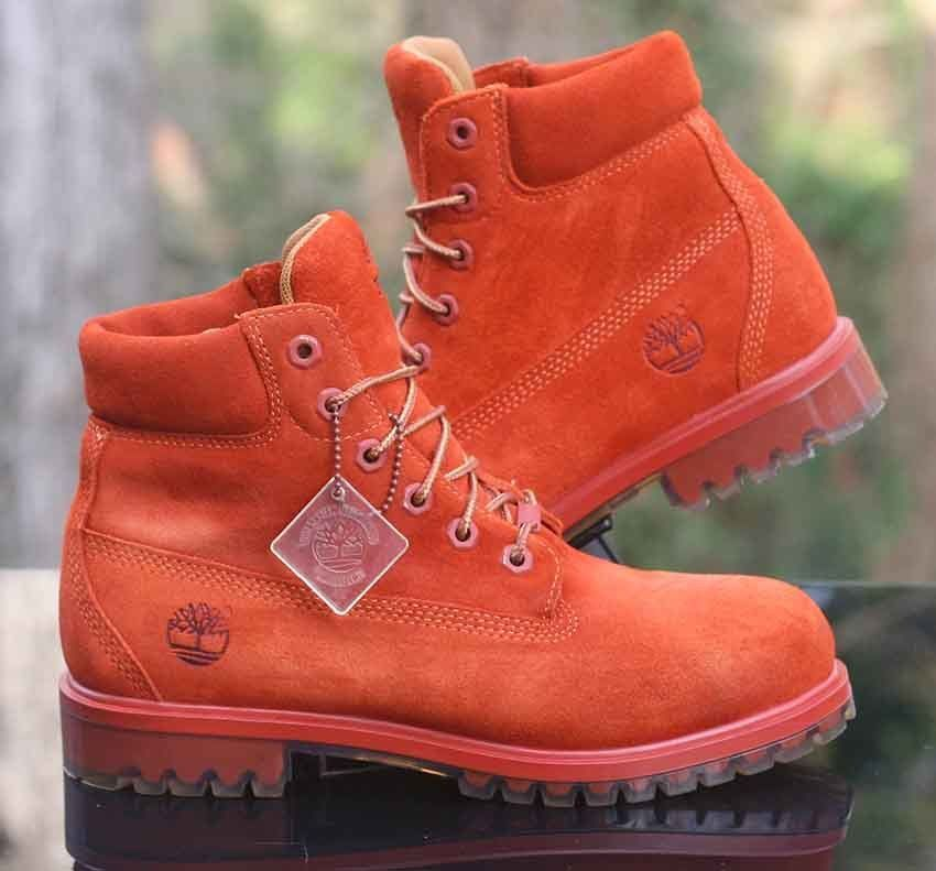 Timberland 6 inch Premium Waterproof GS Boots GS Dark Rust