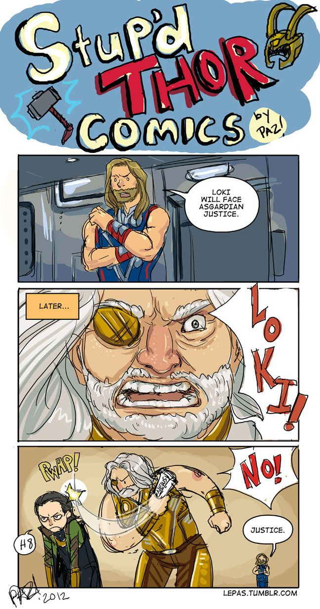 THOR: Asgardian Justice by Lepas on DeviantArt
