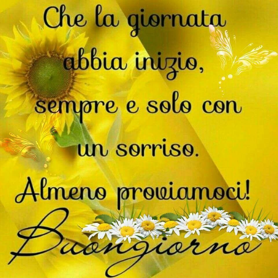 Sempre col sorriso buongiorno good morning smile for Foto immagini buongiorno