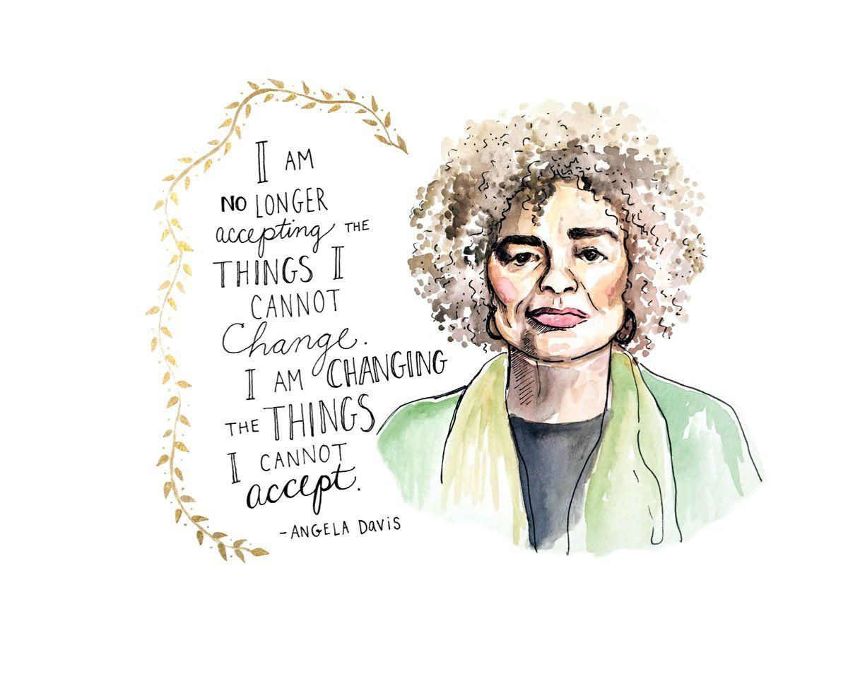 Womens March on | Feministische zitate, Angela davis
