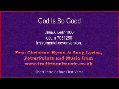 So good gospel lyrics