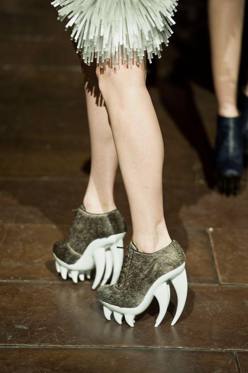 The Shoes To Match Preceding Headress