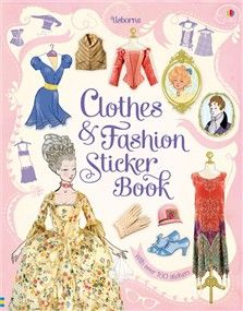 Usborne Quicklinks List For Clothes Fashion Sticker Book Lots Of Excellent Links Sticker Book Fashion Pictures Books
