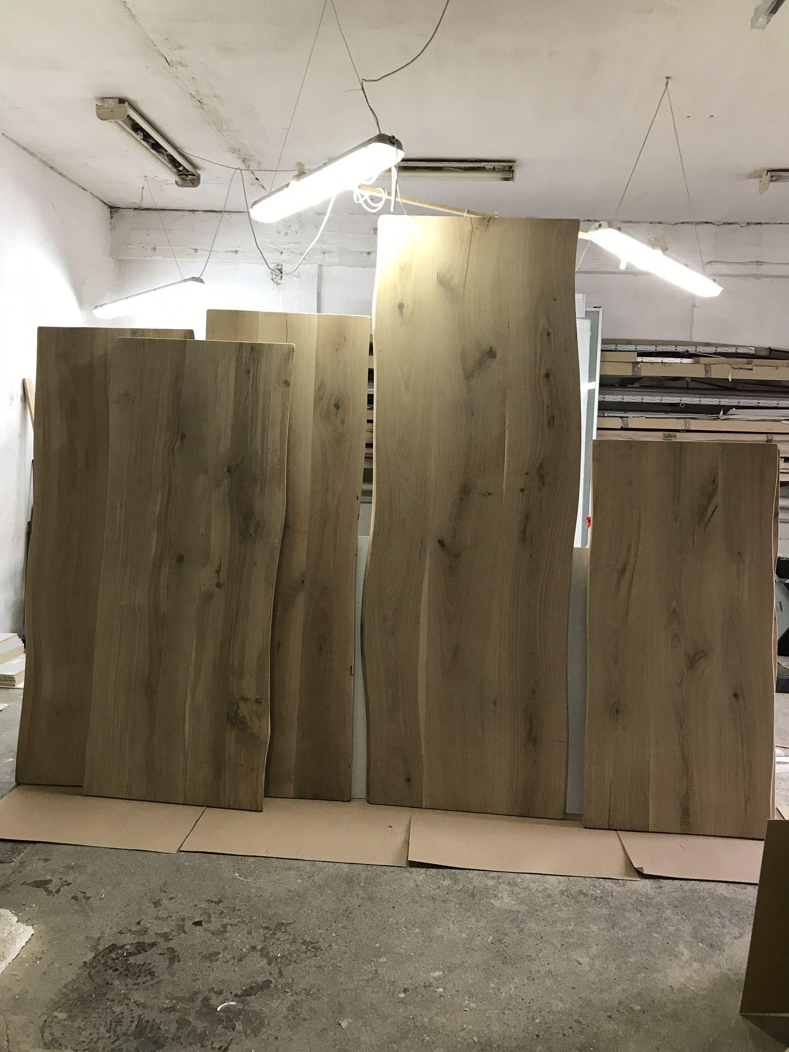 Massive Eichenholz Arbeitsplatten Auf Wunsch Des Kunden Bereiten Wir Arbeitsplatten Vor Tischplattenbreite 70 90 Cm Die Lange Der Tischplatte Kann Zwischen 2