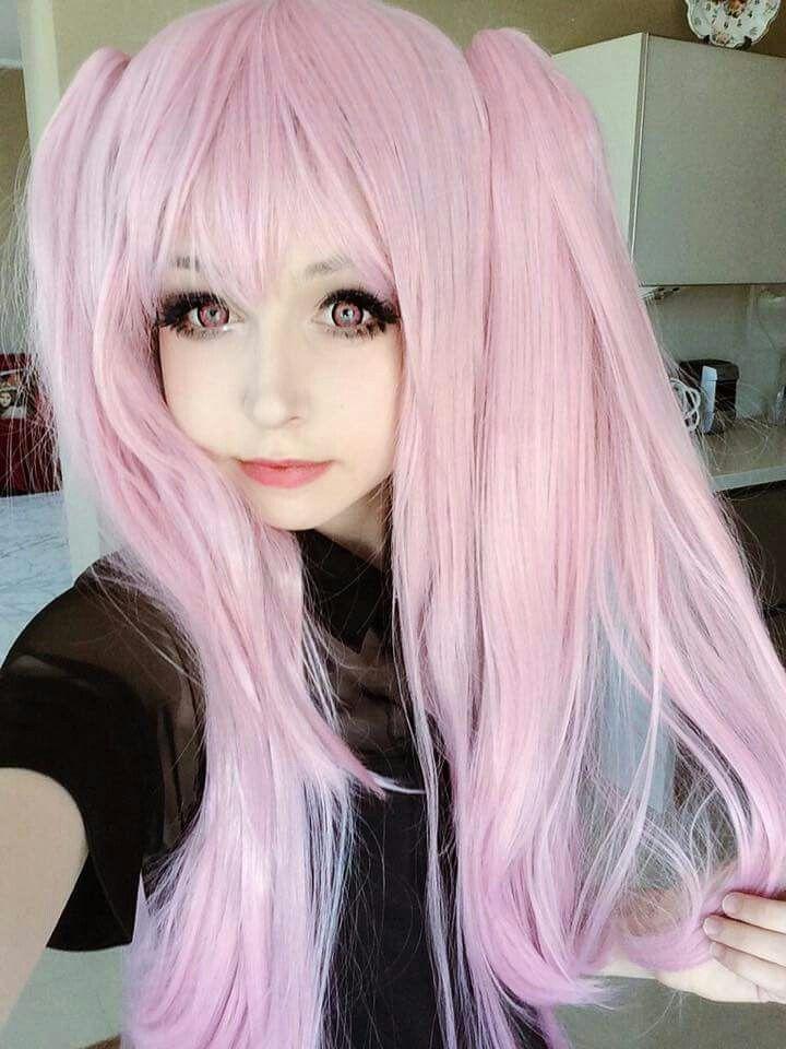 Pink Wig Kawaii Hairstyles Kawaii Wigs Pink Hair