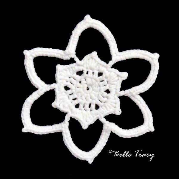 365 Crochet Snowflakes By Belle Tracy | Snowflakes-Seasional | Pinterest
