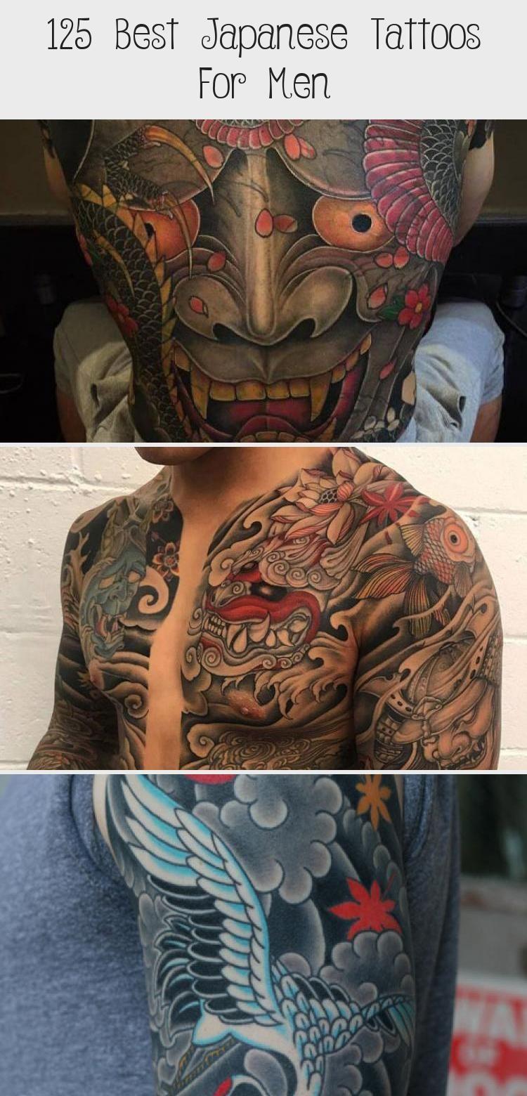 125 Best Japanese Tattoos For Men - Tattoos and Body Art - Japanese Full Sleeve Tattoo