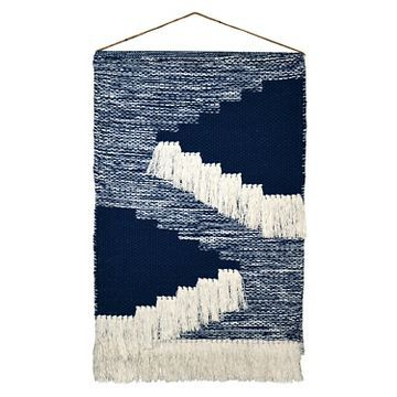Woven Wall Hanging - Blue (18