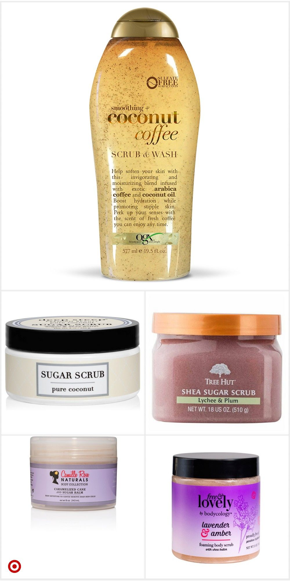 Shop Target for body & scrubs you will love at great low