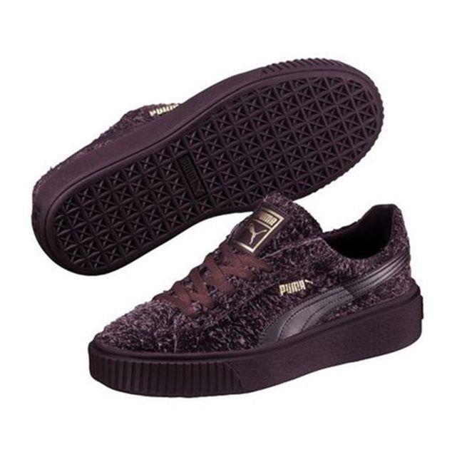 chaussure puma bordeaux femme