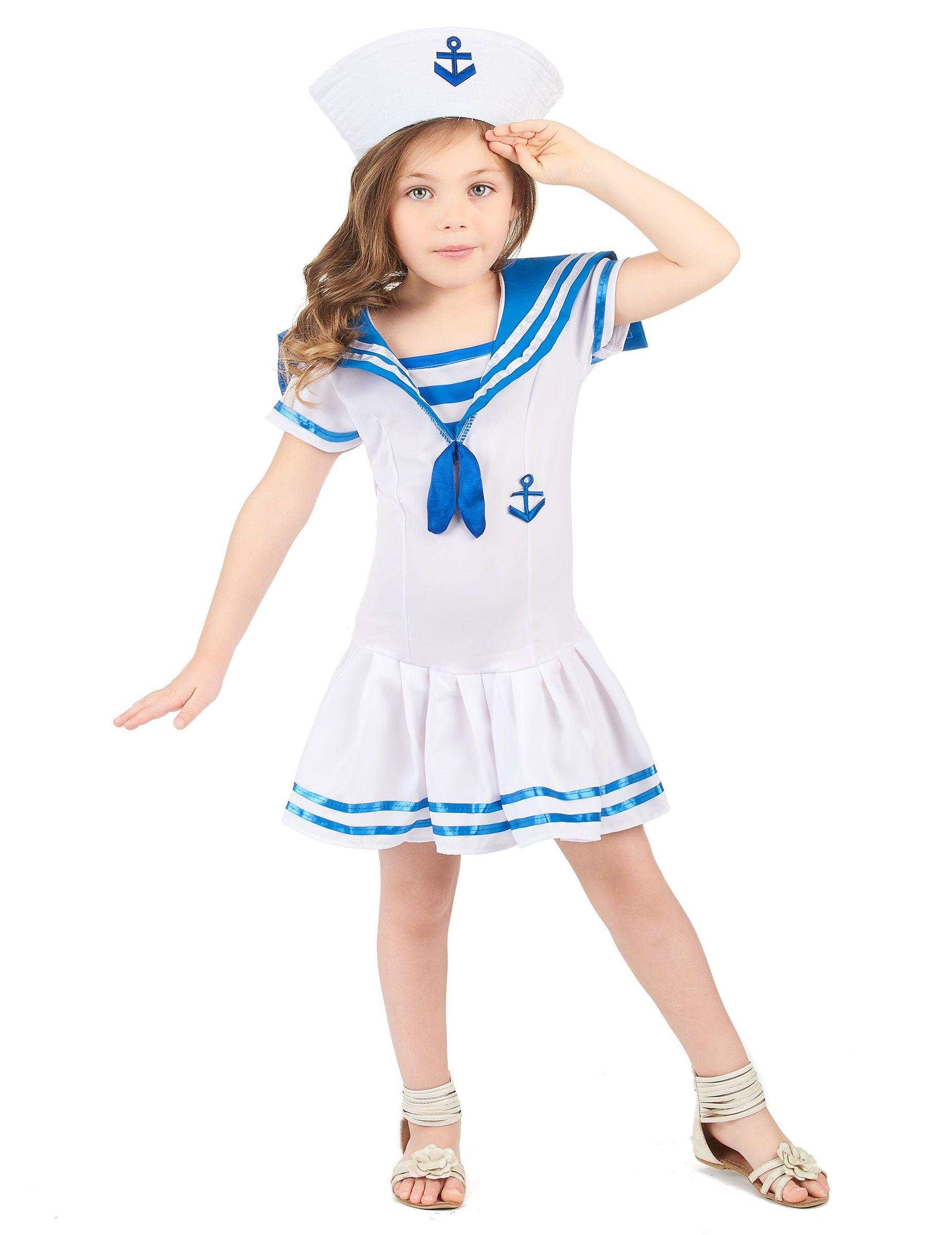 Disfraz marinero niña | Disfraz marinera, Disfraz de