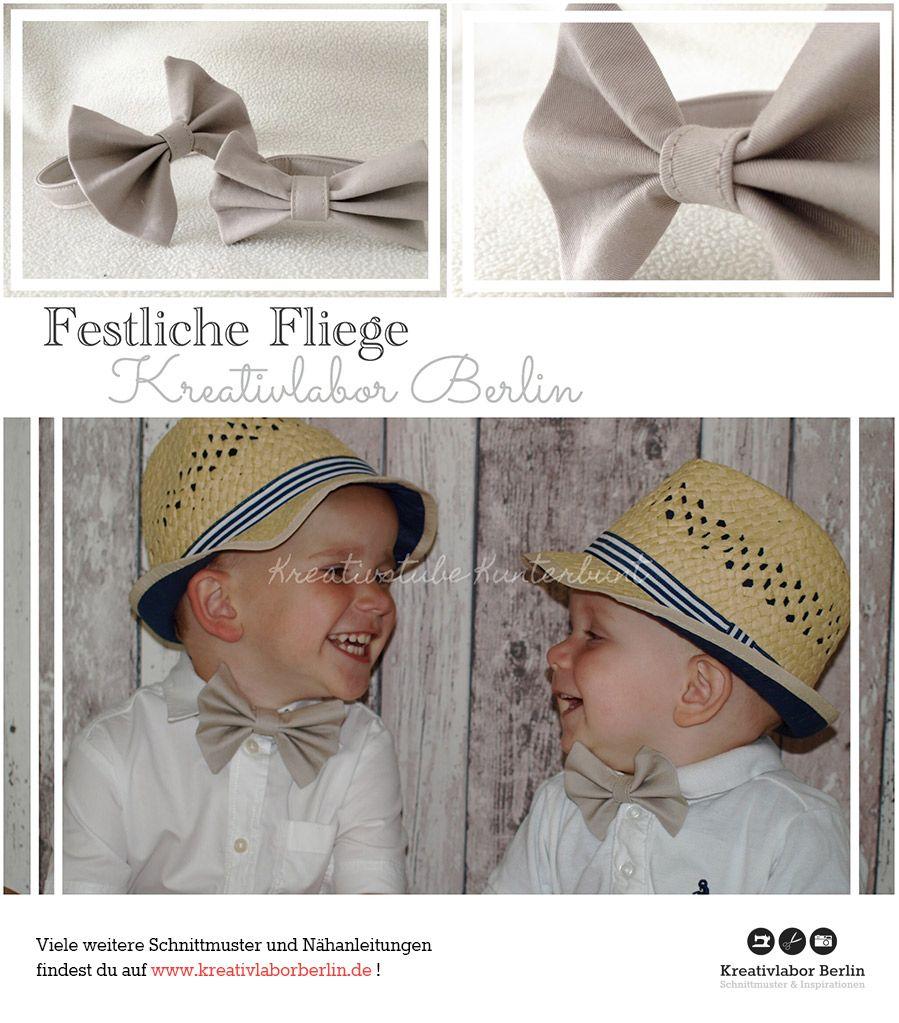 Festliche Fliege für Kinder, Babies & Erwachsene nach meinem ...