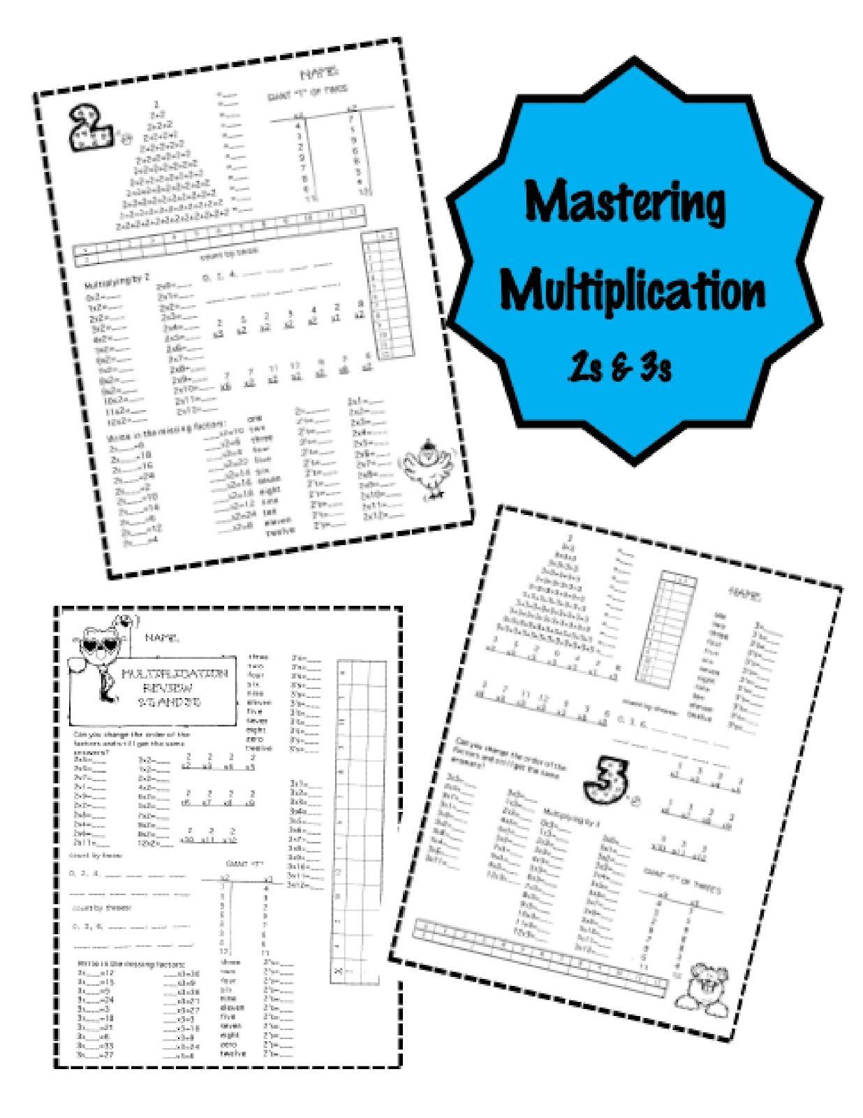 Mastering Multiplication Really Does Matter