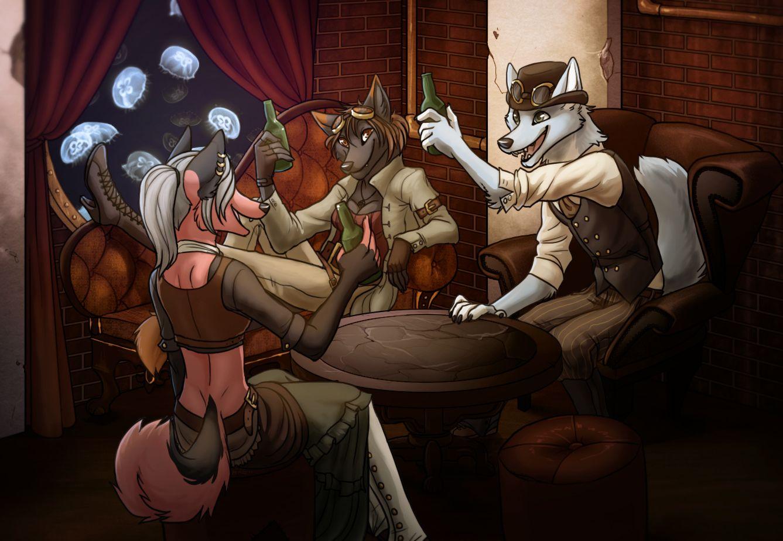 Steampunk Fox by spaceweasel2306 on DeviantArt