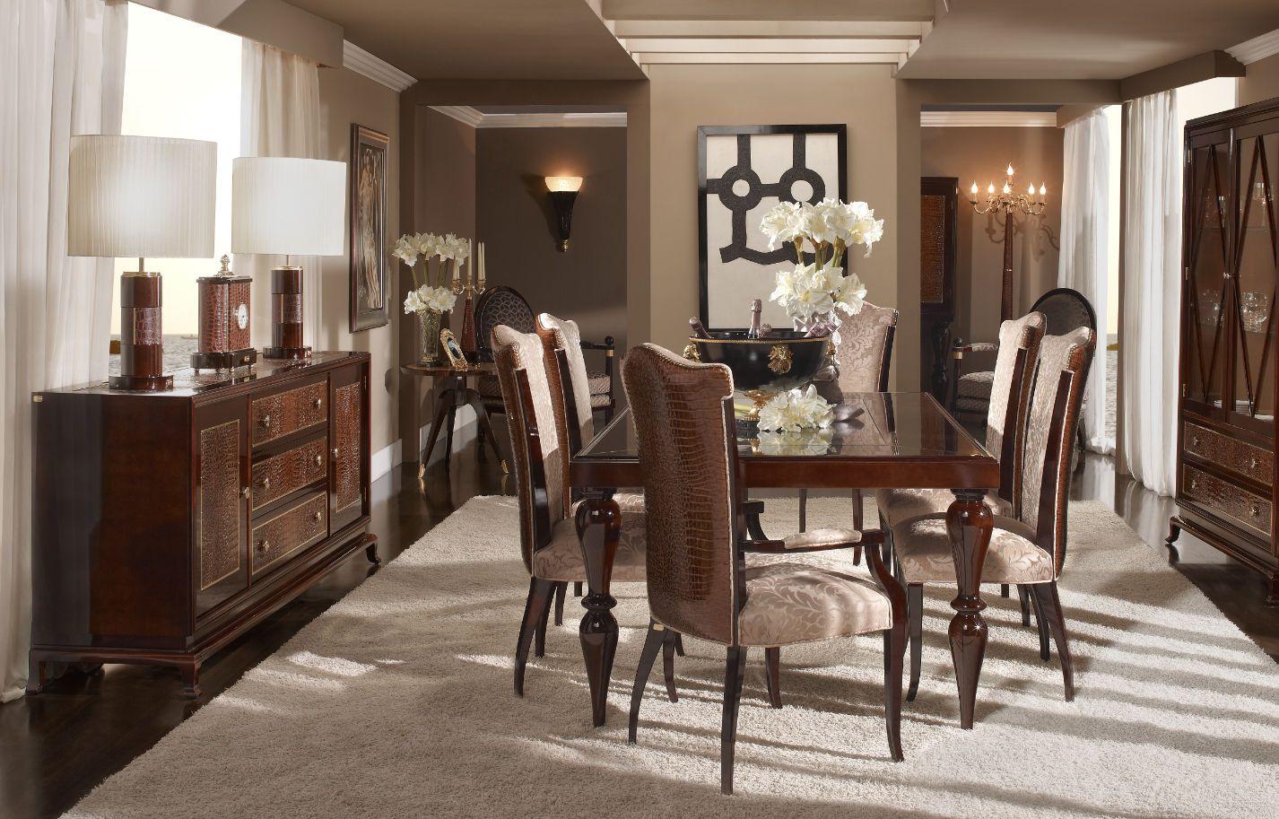 Comedores elegantes clasicos buscar con google molduras for Muebles de comedor elegantes