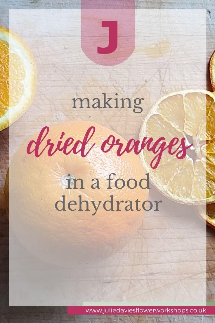 Making dried oranges in a food dehydrator in 2020 Flower