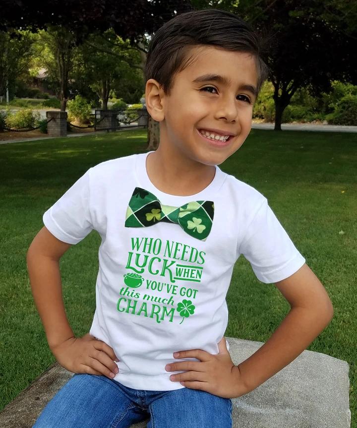 Lucky Leprechaun Bow Tie