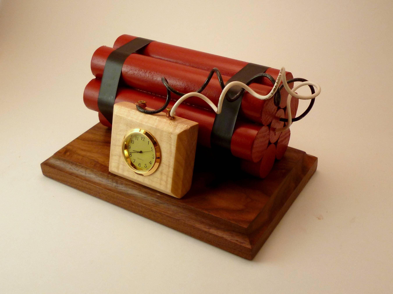 Bomb Clock Wall Clock Design Custom Clocks Diy Clock