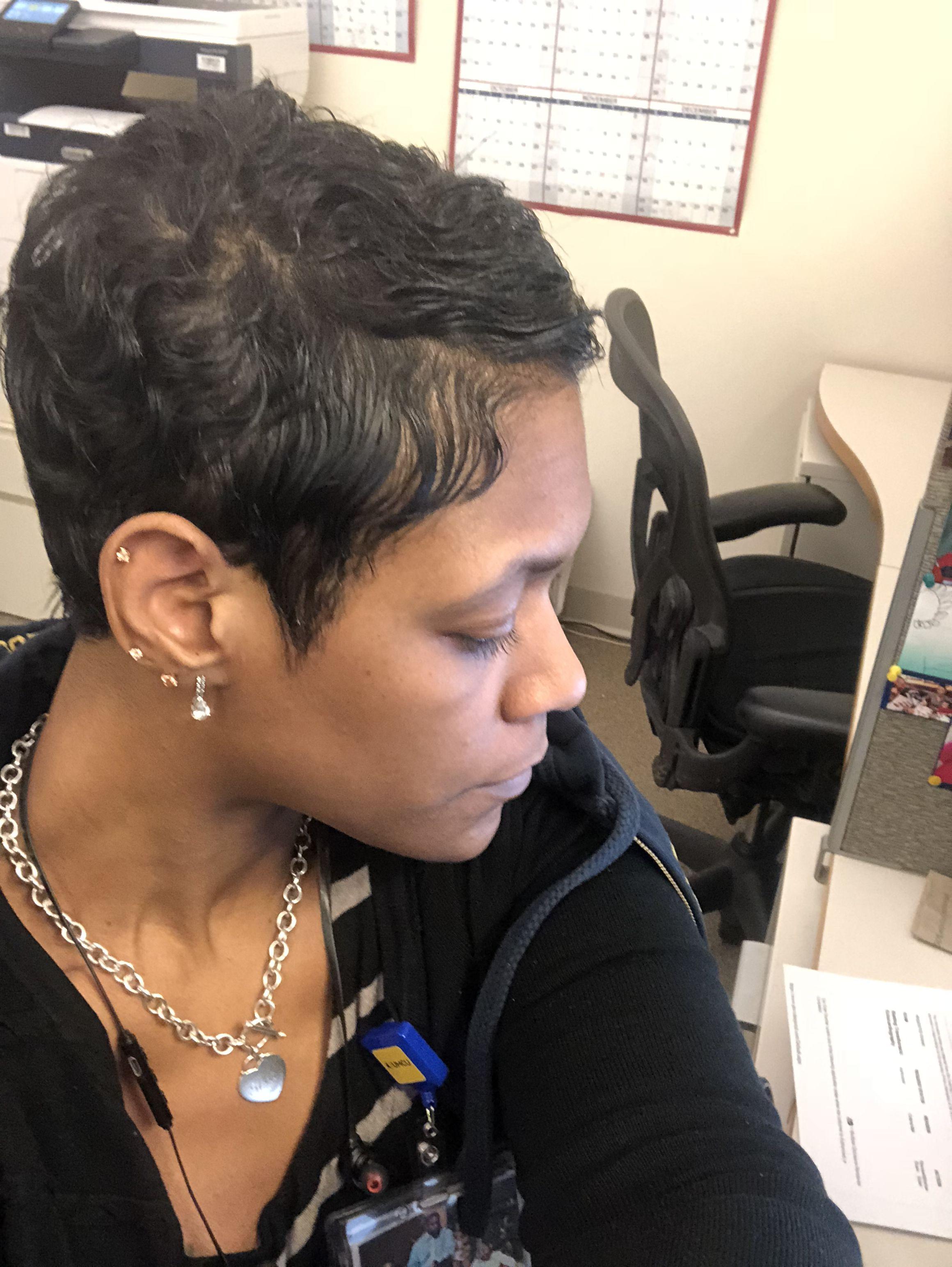 Pin by LeElla Cross on Short hairstyle   Short thin hair, Hair ...