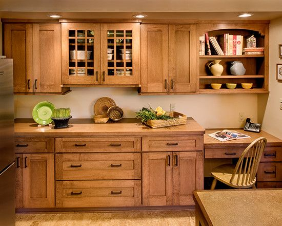Mission Style Cabinets I Like The Arch Above Open Shelves And The