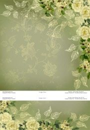 p6317 green paisley toile