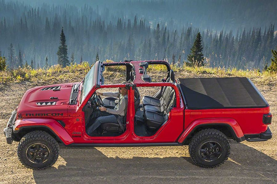 All New 2020 Gladiator Delivers On The Promise Of A Jeep Pickup With Images Jeep Gladiator Jeep Gladiator