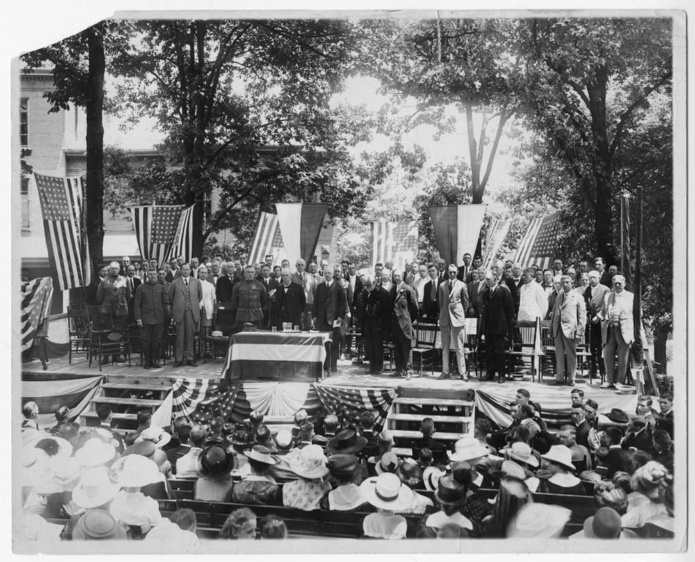 Tech 1917 Commencement institute of