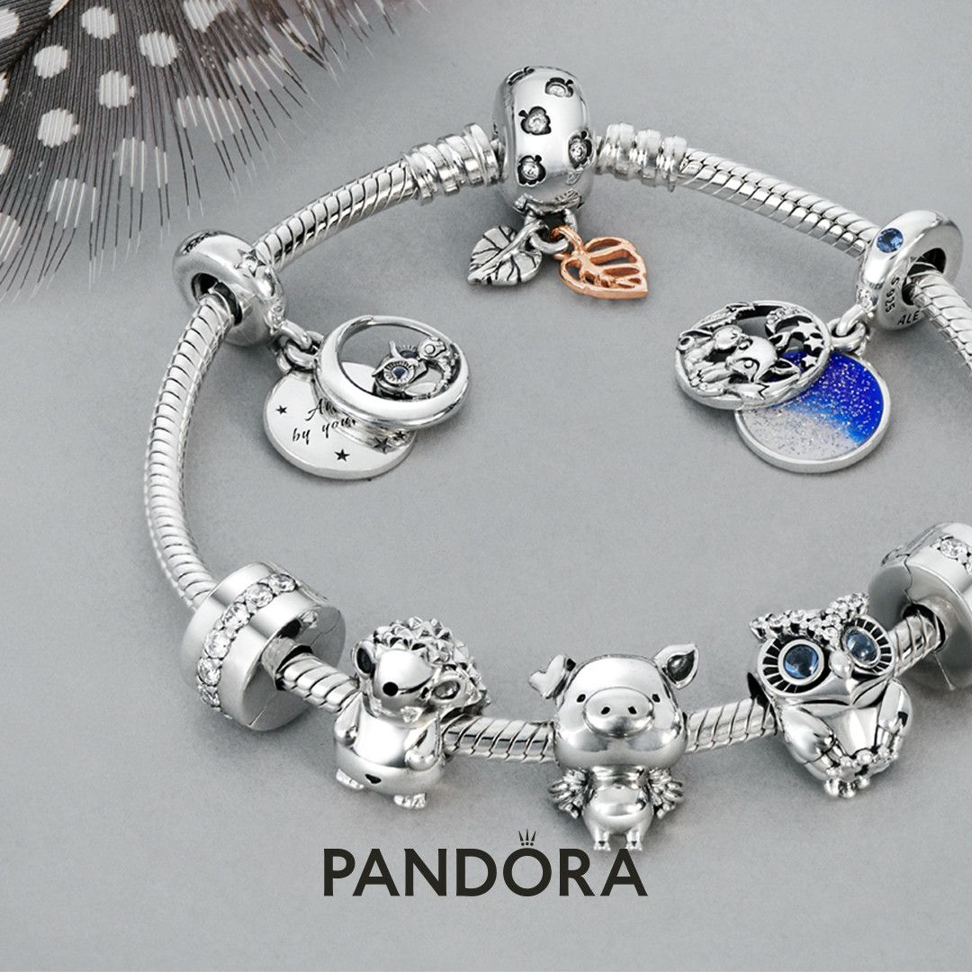 pandora charms family and friends