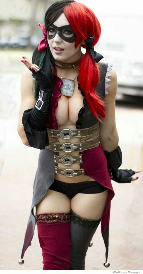 Harley quinn costume fuck