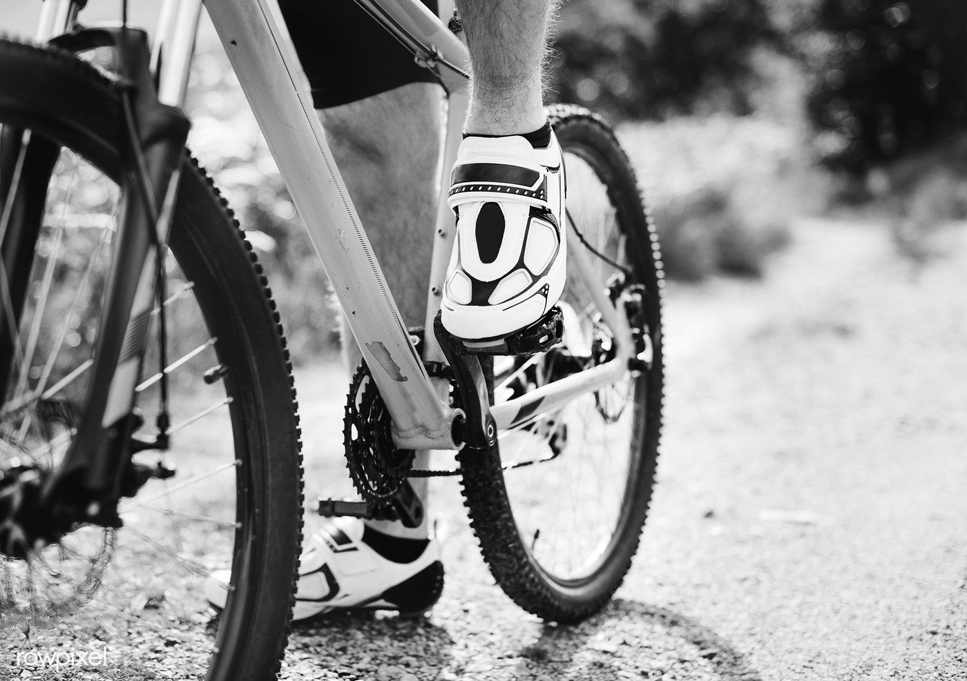 Closeup Of A Man Wearing Cycling Shoes Free Image By Rawpixel