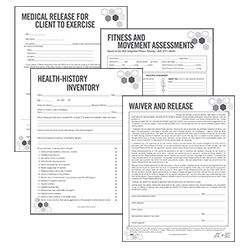 Business Forms Kit Personal Training Business Health History