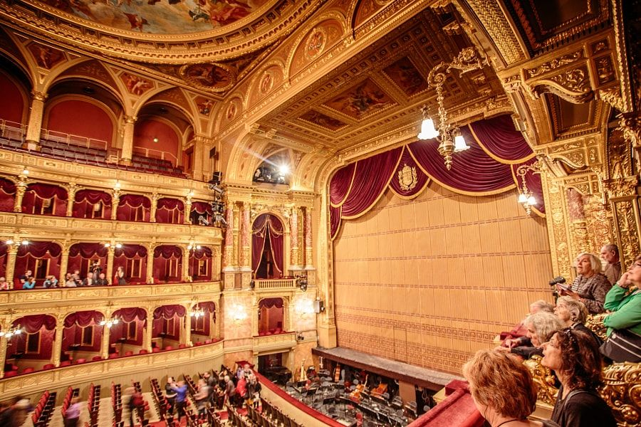 Budapest Opera House - Built in 1884