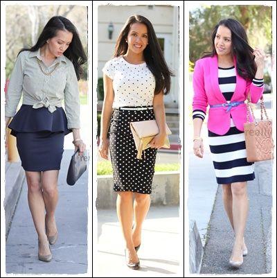 Resultado de imagem para como se vestir bem social feminino
