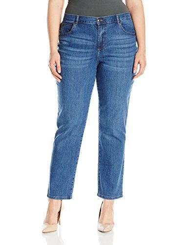 8b320203689 Lee Womens Plus Size Relaxed Fit Straight Leg Jean Meridian 16W Petite      Click image for more details. (Note Amazon affiliate link)
