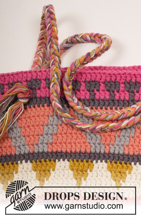 Free Pattern | Crochet Wayuu Bags and Graphs (Corona) | Pinterest ...